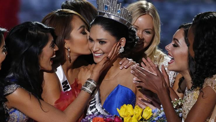 Erst durfte sich Miss Kolumbien Ariadna Gutierrez freuen, kurz darauf Miss Philippinen Pia Alonzo Wurtzbach