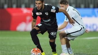 Miguel Peralta verpasst die beiden letzten Saisonspiele des FC Aarau verletzungshalber