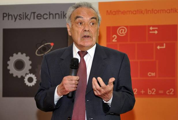 Der Nobelpreis-Träger Werner Arber.