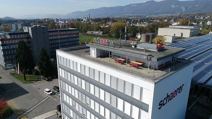 Schaerer investiert in den Standort Areal Riverside in Zuchwil.