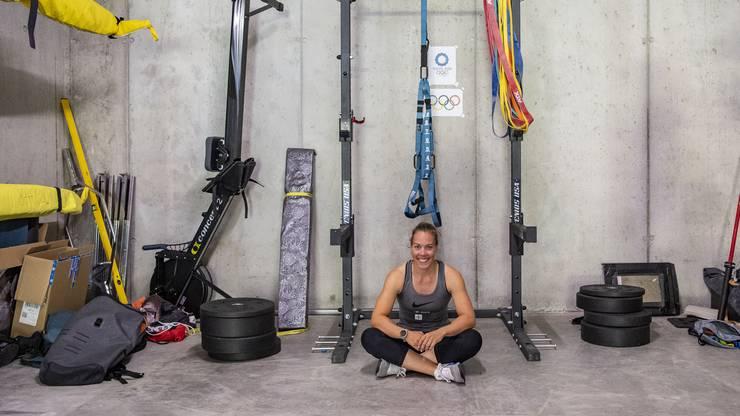 Im Vergleich zu Sportsüchtigen plant die Profiruderin Jeannine Gmelin Pausen gezielt ein, um sich zu regenerieren.