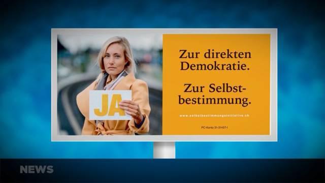 SVP startet Kampagne für Selbstbestimmung