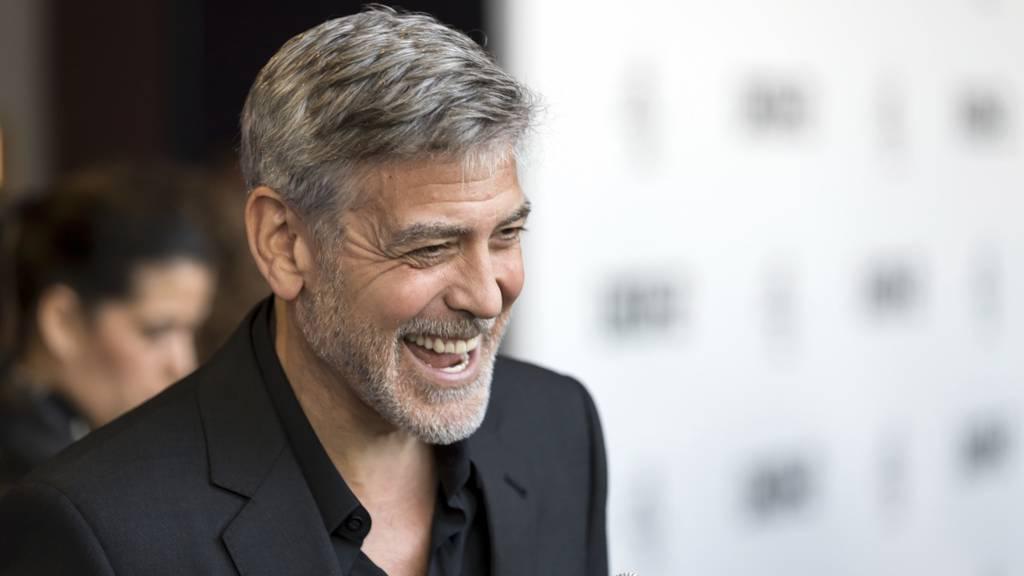 «Ich trage keine Hose» – George Clooney witzelt bei Spendenaktion