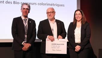 Anhang: Gewinner des zweiten Preises EPFL Learn Award: Stefan Zumbrunn.