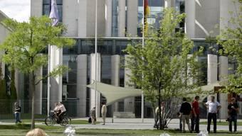 Sitz der deutschen Regierung in Berlin: das Bundeskanzleramt