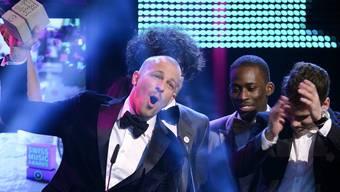 Die Schweizer Musikszene feiert sich bei den Swiss Music Awards