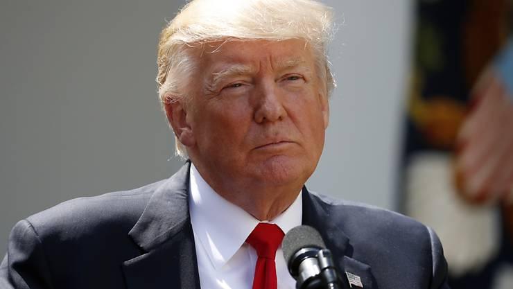 US-Präsident Donald Trump kritisiert die Untätigkeit Chinas im Nordkorea-Konflikt. (Archivbild)