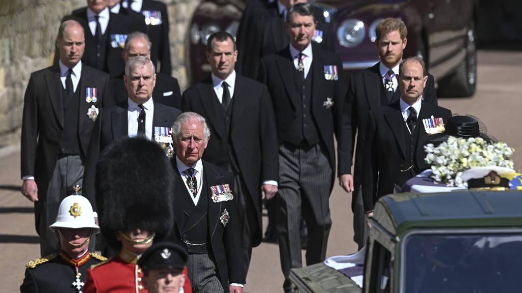 Die Trauerfeier von Prinz Philip in Bildern