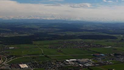 Blick auf Deitingen.