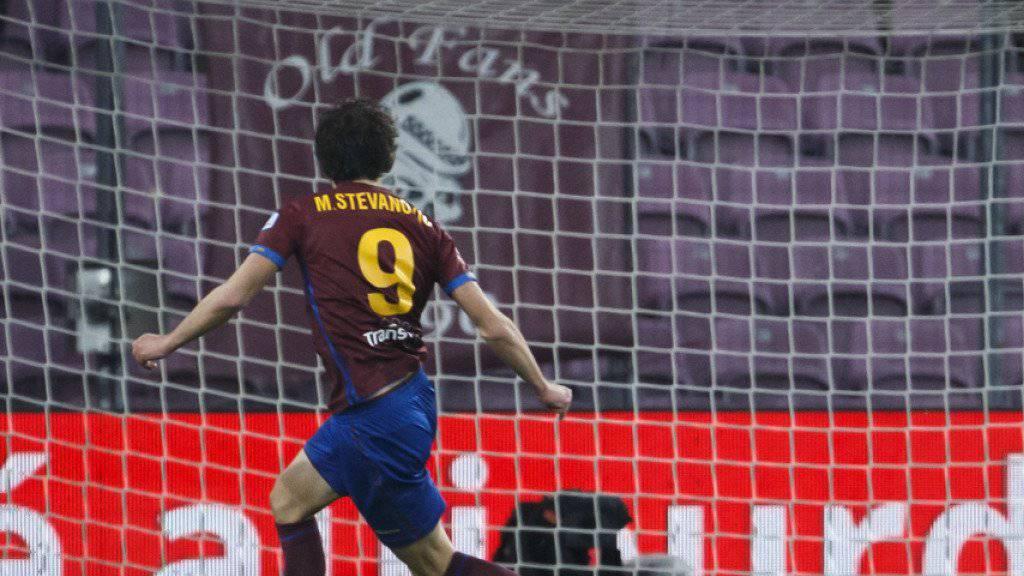 Miroslav Stevanovic - Doppeltorschütze für Servette