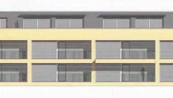 Attraktive Lage: Mitten im Dorf werden zwei Blöcke mit je zehn altersgerechten Wohnungen entstehen. (zvg)