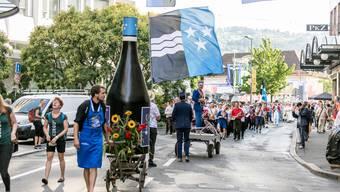 Die schönsten Bilder vom Aargauer Tag an der Fête des Vignerons