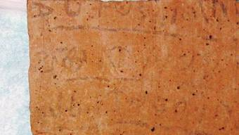 Hebräische Schrift (10. Jh. v. Chr., Quelle: Uni Haifa)