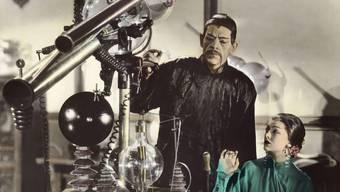 Die «Gelbe Gefahr» in Person: Boris Karloff als chinesischer Schurke in «The Mask of Fu Manchu» (1932).
