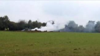 Im französischen Departement Doubs ist die Maschine der Schweizer Armee abgestürzt. (V1)