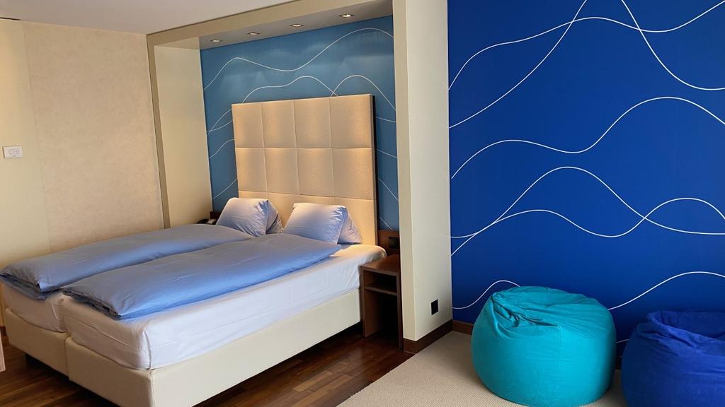 So sieht das neue Themenzimmer im Hotel Säntispark aus