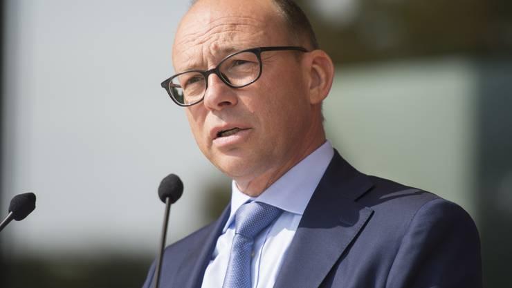 Hubert Zimmermann, CEO der AEW nimmt Stellung zu den Stromausfällen.
