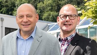 Valentin Schmid und Marcel Lang.