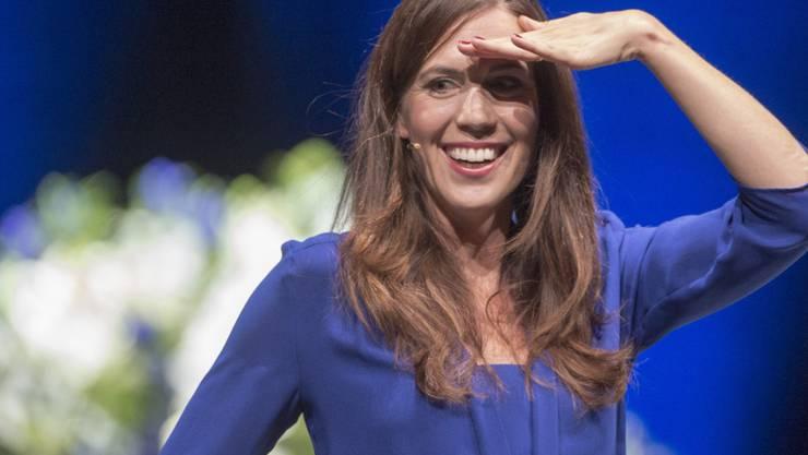 """Susanne Wille kehrt als Moderatorin zur Nachrichtensendung """"10vor10"""" zurück. Sie war zuvor bereits von 2001 bis 2011 in dieser Funktion tätig gewesen. (Archivbild)"""