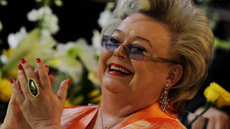 Die Sängerin Nella Martinetti - hier bei der Prix-Walo-Gala 2010 -  verstarb vor vier Jahren an Krebs.