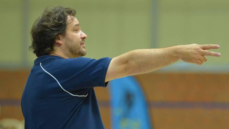 Konnte mit dem gezeigten nicht zufrieden sein: Starwings-Trainer Roland Pavloski.