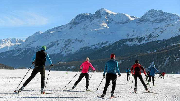 So ruhig haben es die Langläufer selten am Tag des Skimarathon, der in diesem Jahr abgesagt werden musste.