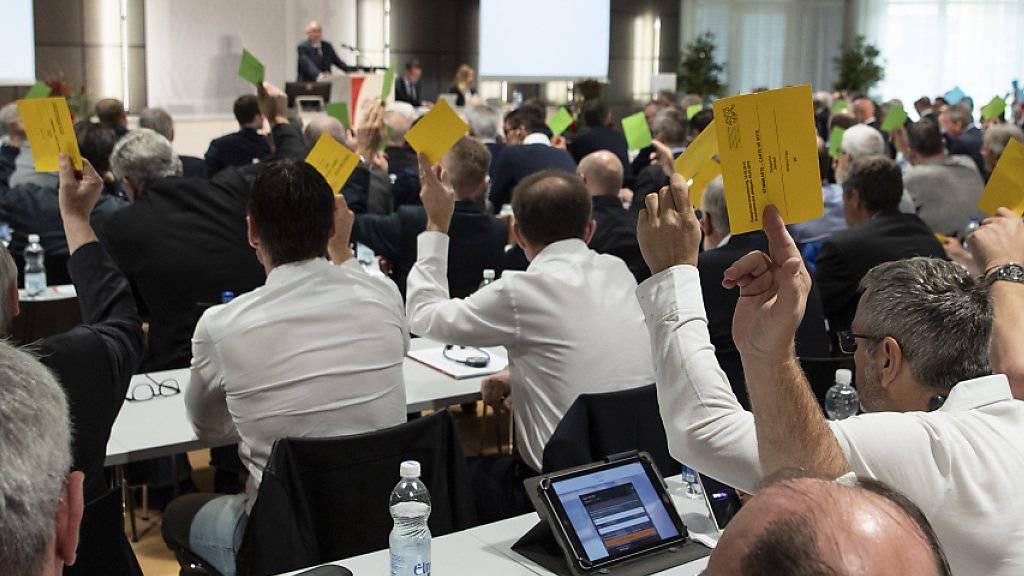 Die Delegiertenversammlung des Schweizerischen Fussballverbands ging in Ittigen über die Bühne