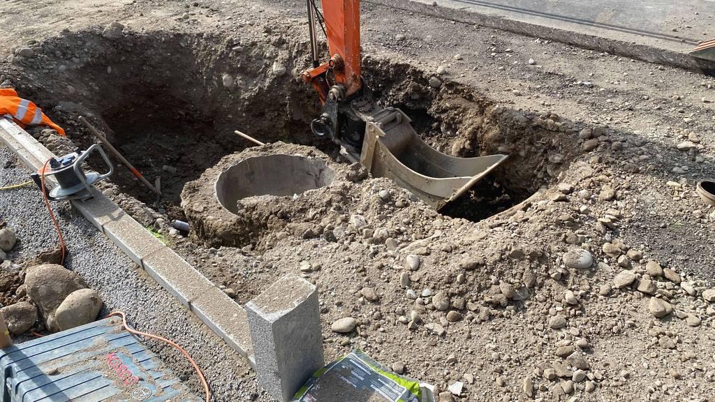 Erdgasleitung beschädigt – Strassen wurden gesperrt