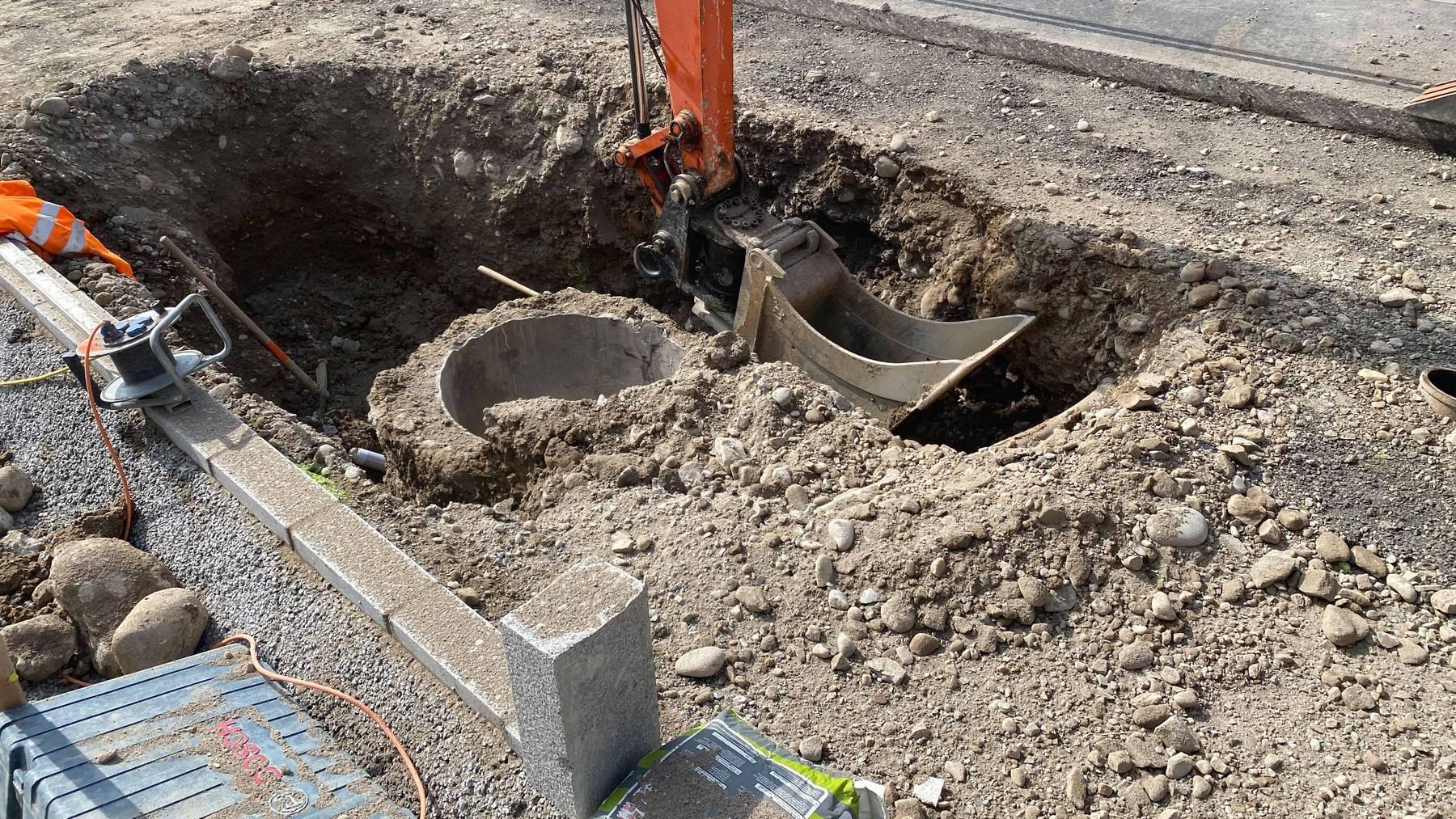 Baar: Gasleitung beschädigt – Strassen gesperrt