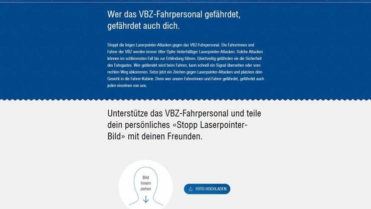 VBZ-Kampagne gegen Laserpointer_002