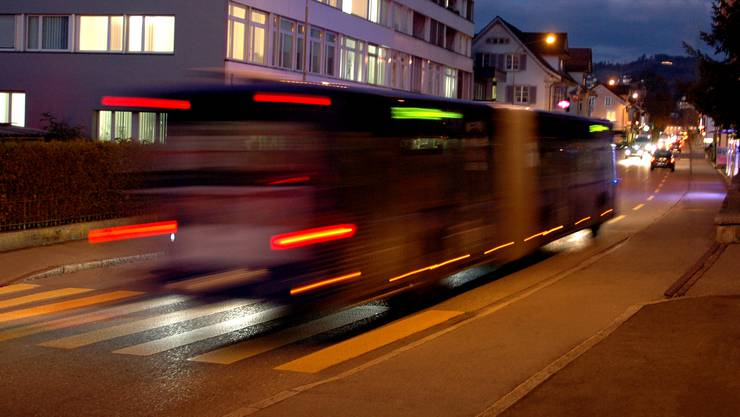Ein Nachtbus der VZO