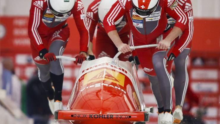 Janne Bror van der Zijde will für die Schweiz eine WM-Medaille gewinnen.