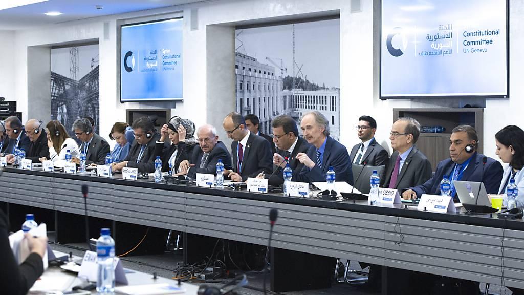 Genfer Syrien-Gespräche: Arbeit an Verfassungsentwurf soll beginnen