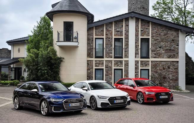Audi S6 Limousine, S7 Sportback und S6 Avant
