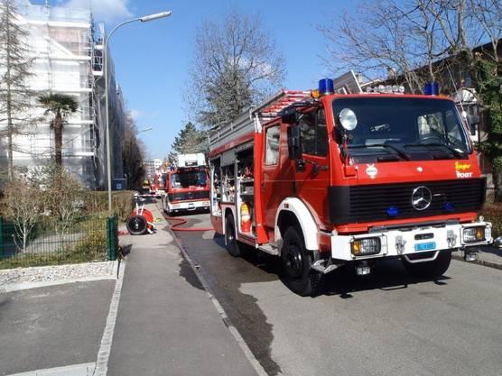 Brand in einem Mehrfamilienhaus in Mülligen verursachte über 100 000 Franken (Themenbild).