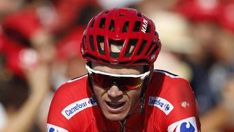 Chris Froome verteidigt in der Königsetappe der Vuelta das Leadertrikot mit Erfolg