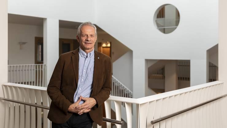 Standortförderer Adrian Ebenberger setzt sich für die Wiederbelebung des Dietiker Zentrums ein.