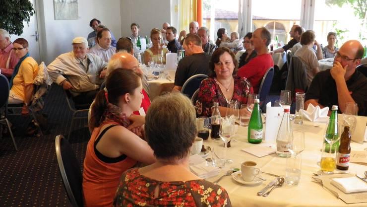 1.-August-Feier der Schweizer Demokraten im Seehotel Hallwil, Beinwil am See