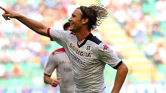 Cagliaris Albin Ekdal dreifacher Torschütze gegen Inter Mailand