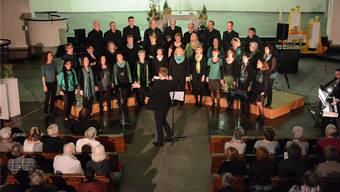 Der Gospelchor «sing2gether» sang sich in die Herzen des Publikums.
