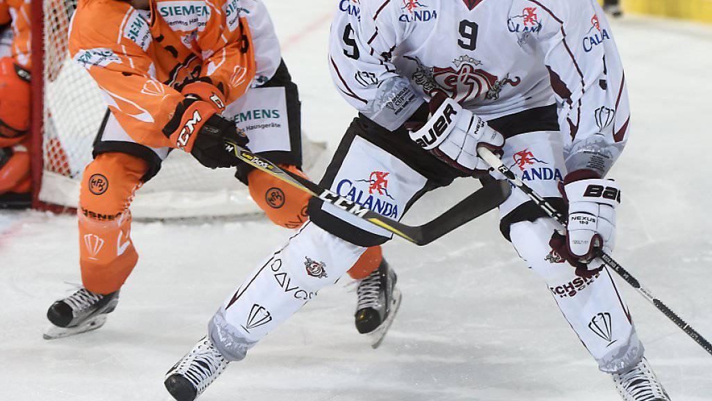 Dinamo Riga kam im zweiten Spiel am Spengler Cup zum ersten Sieg und setzte sich gegen den finnischen Vertreter Hämeenlinna in der Verlängerung durch
