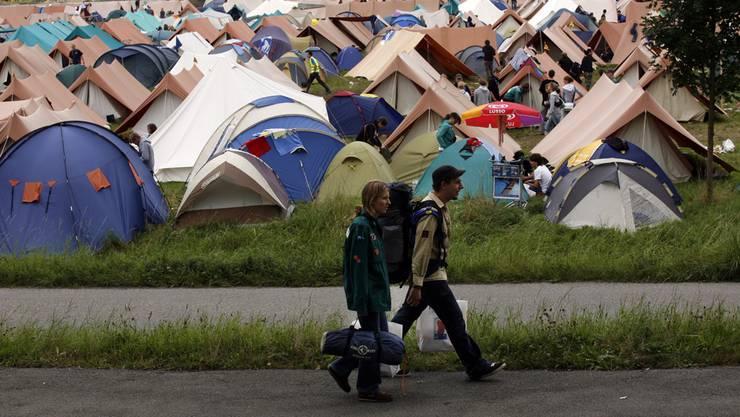 Schweizer «Pfadis» brauchen Lagerplätze an Pfingsten und während der Sommer- und Herbstferien. Archiv