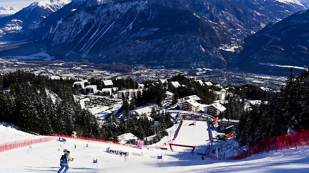Zum zweiten Mal sollen 2027 die alpinen Ski-Weltmeisterschaften in Crans-Montana stattfinden