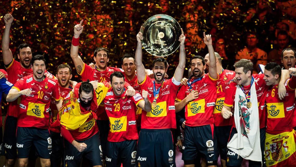 Handball Em Russland Spanien