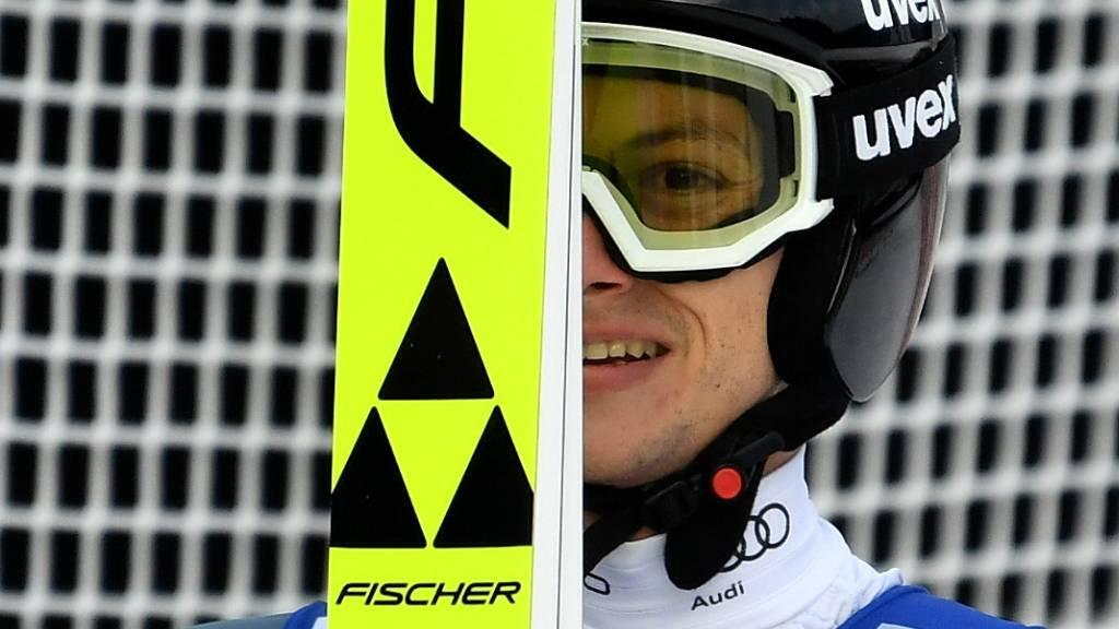 Gregor Deschwanden musste im zweiten Durchgang zuschauen. (Archivaufnahme)