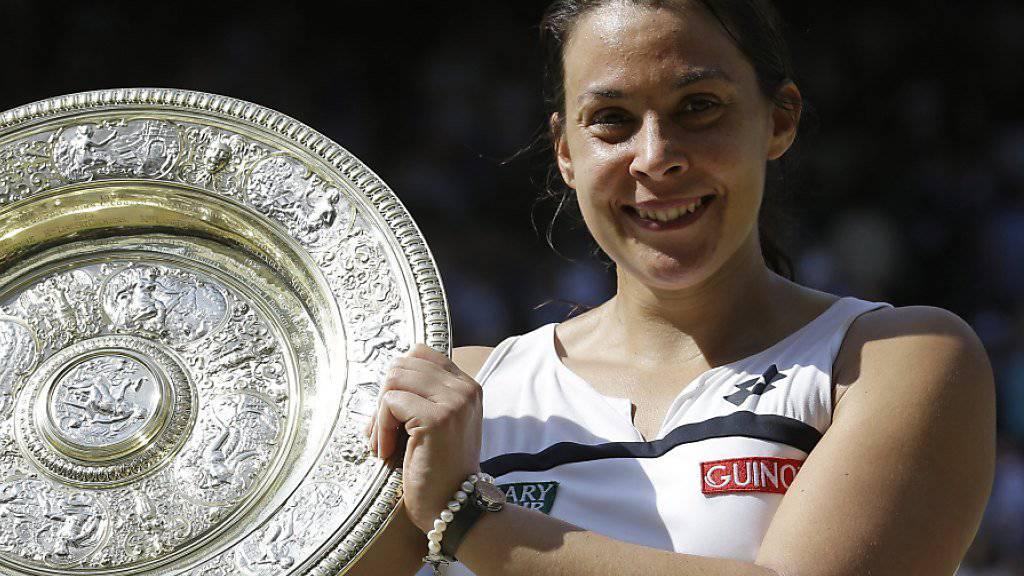 Die Französin Marion Bartoli war kurz nach ihrem grössten Triumph 2013 in Wimbledon zurückgetreten