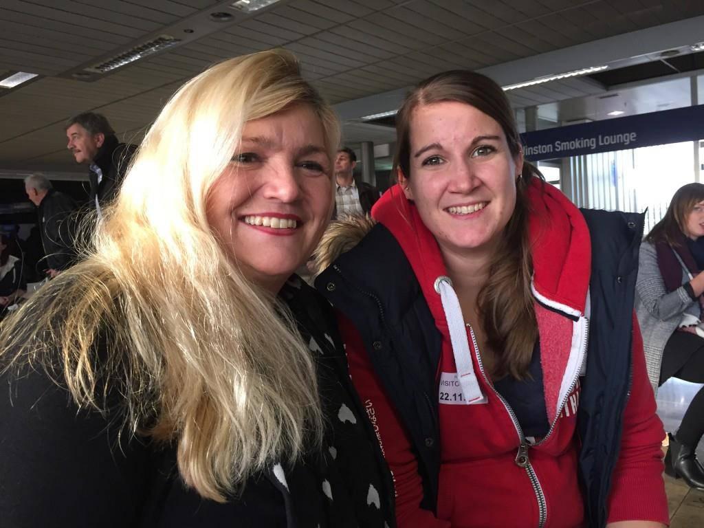 """Barbara Huber mit Tochter Nadia: """"Das Boarding war fast gleich lang, wie ein normales Boarding. Aber angenehmer."""""""