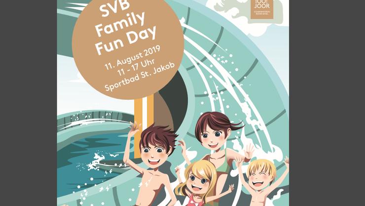 Flyer zum SVB Family Fun Day