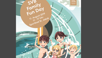 Flyer zum SVB Family Fun Day