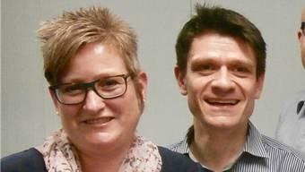 Wollen den abtretenden Gemeindepräsident ersetzen: Gabi Stiegeler und Matthias Suter.